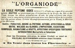 AVIACION AVIATION L'ORGANIODE LA SEULE PEPTONE IODEE - Publicidad