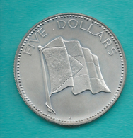 Elizabeth II - 5 Dollars - 1974 - KM67 - Bahamas