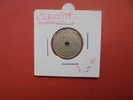CURIOSITE ! 10 Centimes Léopold III.1939 - Belgique