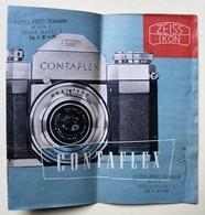Appareil Photo Contaflex Zeis Ikon Publicité Ancienne Notice Foto Ferd. Zemann Wien 2 Neuer Markt - Matériel & Accessoires