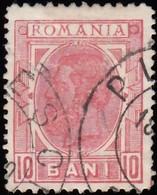 ROMANIA - Scott #123 King Carol I 'Wmk. 164' (1) / Used Stamp - 1881-1918: Charles I