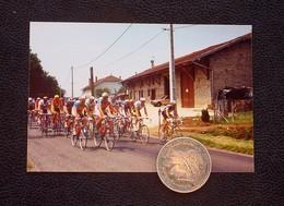 01 - MEZERIAT - TOUR DE FRANCE - 08/07/1991 - LE PELOTON - - Cyclisme