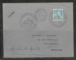 LOT 1812249 - N° 549 SUR LETTRE DE VARENGEVILLE DU 28/11/42 POUR VARENGEVILLE - TARIF IMPRIME - 1921-1960: Modern Period