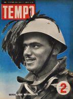 TEMPO - N° 69 - 19/9/1940 - BERSAGLIERE MOTORIZZATO - Guerra 1939-45