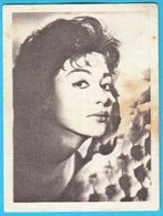 RITA MORENO ... Yugoslav Vintage Collectiable Gum Card Issued 1960's - Cinema & TV