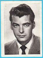 RORY CALHOUN ... Yugoslav Vintage Collectiable Gum Card Issued 1960's * American Film Actor USA - Cinema & TV