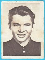 AUDIE MURPHY ... Yugoslav Vintage Collectiable Gum Card Issued 1960's * Actor And Most Decorated American WW2 Soldier - Cinema & TV