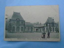 """Montmorency , Château Du Duc De Dino , Les Communs """" Carte Animée """" - Montmorency"""