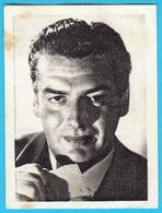 VICTOR MATURE ... Yugoslav Vintage Collectiable Gum Card Issued 1960's * American Film Actor USA - Cinema & TV