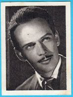 FRANK LATIMORE ... Yugoslav Vintage Collectiable Gum Card Issued 1960's * American Film Actor USA - Cinema & TV