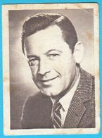 WILLIAM HOLDEN  ... Yugoslav Vintage Collectiable Gum Card Issued 1960's * American Film Actor USA - Cinema & TV