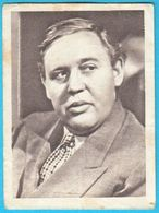 CHARLES LAUGHTON ... Yugoslav Vintage Collectiable Gum Card Issued 1960's * English-American Film Actor England USA - Cinema & TV