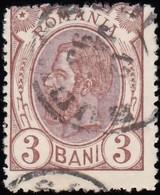 ROMANIA - Scott #119 King Carol I 'Wmk. 164' (1) / Used Stamp - 1881-1918: Charles I