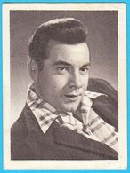 MARIO LANZA ... Yugoslav Vintage Collectiable Gum Card Issued 1960's * USA American Film Actor And Singer - Cinema & TV