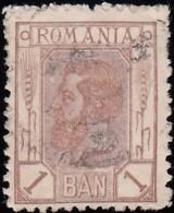 ROMANIA - Scott #133 King Carol I / Used Stamp - 1881-1918: Charles I