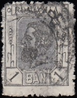 ROMANIA - Scott #134 King Carol I / Used Stamp - 1881-1918: Charles I