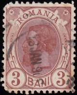 ROMANIA - Scott #135 King Carol I / Used Stamp - 1881-1918: Charles I