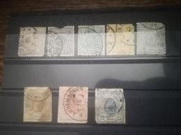 Armoires Deuxième Choix / Second Choice / (o)/ Gestempelt - 1859-1880 Coat Of Arms