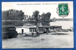 Villeneuve St Georges  - Les Bateaux Lavoir - Villeneuve Saint Georges