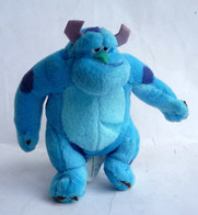 FIGURINE PELUCHE MC DONALD'S 2002 MONSTRE ET COMPAGNIE SULLY  DISNEY PIXAR - Disney