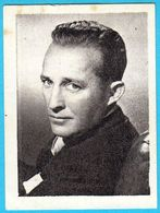 BING CROSBY ... Yugoslav Vintage Collectiable Gum Card Issued 1960's * American Film Actor And Singer USA - Cinema & TV