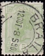ROMANIA - Scott #136 King Carol I / Used Stamp - 1881-1918: Charles I
