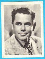 GLENN FORD ... Yugoslav Vintage Collectiable Gum Card Issued 1960's * Film Actor Canada - USA - Cinema & TV