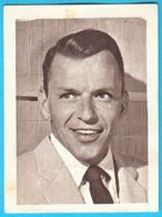 FRANK SINATRA ... Yugoslav Vintage Collectiable Gum Card Issued 1960's * American Film Actor And Singer USA - Cinema & TV