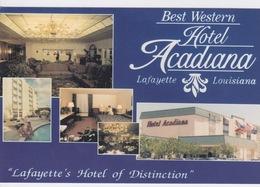 USA _ HOTEL _ BEST WESTERN _ ACADIANA LAFAYETTE LOUISIANA  _ PUB - Etats-Unis