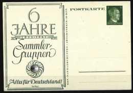 Z01732)DR Interessante Hitler-Privat-GA Ungebraucht - Deutschland
