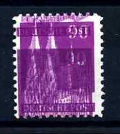 Z02711)Bizone Bauten 96**, Schöner Doppeldruck - Bizone