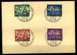 Z04888)GG 92/95 FDC-Karte - Besetzungen 1938-45