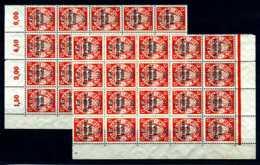 Z05725)DR 722(*), 40 Stück In Einheiten, Danzig Abschied - Deutschland