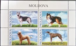 Moldova, 2006, Mi. 565-68, Y&T 489-92, Sc. 539-42, SG 557-60, Dogs, MNH - Moldova