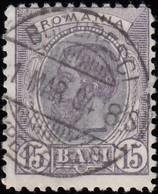 ROMANIA - Scott #140 King Carol I / Used Stamp - 1881-1918: Charles I