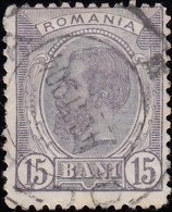 ROMANIA - Scott #140 King Carol I (1) / Used Stamp - 1881-1918: Charles I
