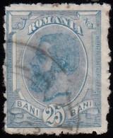ROMANIA - Scott #141 King Carol I (1) / Used Stamp - 1881-1918: Charles I