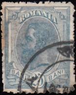ROMANIA - Scott #141 King Carol I / Used Stamp - 1881-1918: Charles I