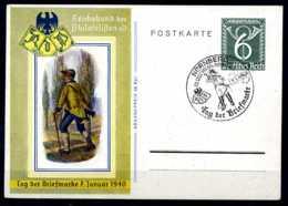 Z08782)DR Sonder-GA Tag Der Briefmarke 1940 Mit SST - Deutschland