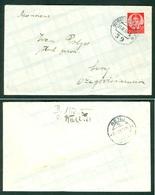 Yugoslavia 1936 Ambulance Bahnpost Railway Post Subotica - Zagreb 39 Letter Senj - 1945-1992 Socialist Federal Republic Of Yugoslavia