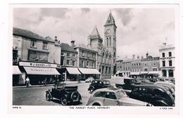 UK-3154   NEWBURY : The Market Place ( Landrover) - Otros
