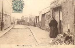75018 - PARIS MONTMARTRE - L'impasse Girardon Le 10 Juillet 1904 - District 18
