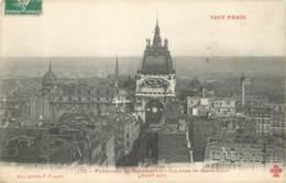 75018 - TOUT PARIS - Panorama De MONTMARTRE Prise Du Sacré Coeur 1907 - Arrondissement: 18