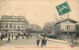 75019 - TOUT PARIS - Rue Manin Et Place Armand Carrel En 1908 - Arrondissement: 19