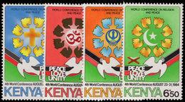 Kenya 1984 Religion And Peace Unmounted Mint. - Kenya (1963-...)
