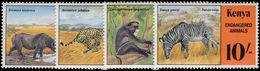 Kenya 1985 Endangered Species Unmounted Mint. - Kenya (1963-...)