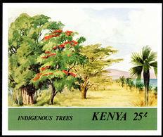 Kenya 1986 Indigenous Trees Souvenir Sheet Unmounted Mint. - Kenya (1963-...)