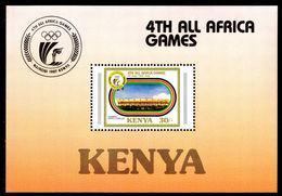 Kenya 1987 All-Africa Games Souvenir Sheet Unmounted Mint. - Kenya (1963-...)