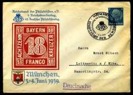 Z12971)DR Privat-GA-Umschlag München 1939 Mit SST - Deutschland