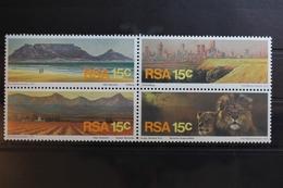 Südafrika 484-487 ** Postfrisch Als Viererblock #RS403 - Südafrika (1961-...)